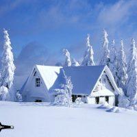 نقاشی خدا از فصل زمستان