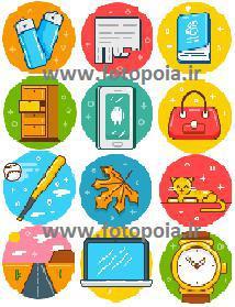 بسته 12 تصویری گرافیک