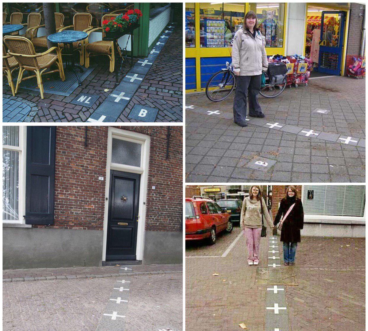 عجیب ترین مرز دو کشور | هلند و بلژیک