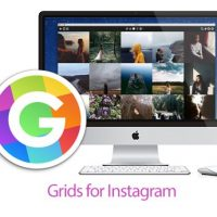 نرم افزار Grids for Instagram| مدیریت حساب اینستاگرام